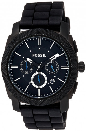 Fossil Machine Chronograph Black Dial Men's Watch