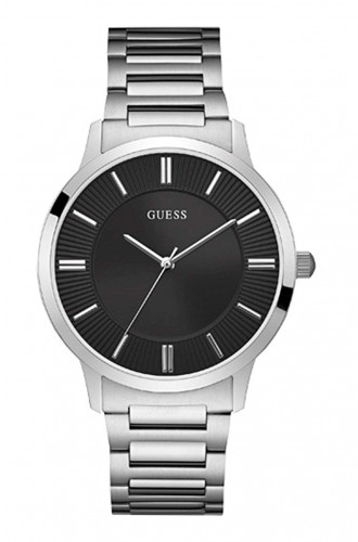 Guess Escrow Black Dial Analog Men's Watch