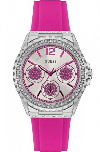 Guess Starlight Analog White Dial Women's Watch