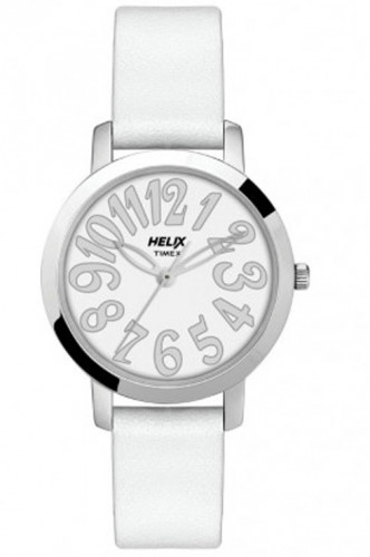 helix TW024HL07 Analogue Women's White Watch