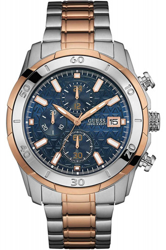 GUESS Chronograph Quartz Multicolour Dial Men's Watch (W0746G1)