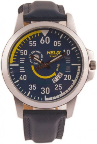 HELIX Analog Blue Dial Men's Watch