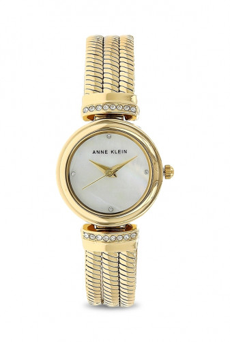 Anne Klein White Mother of Pearl Dial Analog Watch