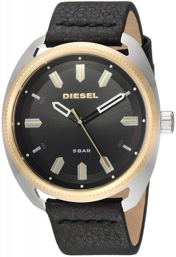 Diesel Analog Black Dial Men's Watch