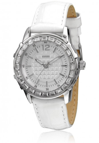 Guess W0019L1 Analog Silver Dial Women's Watch