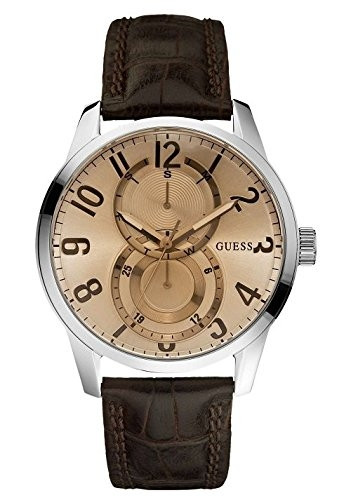 GUESS Analog Gold Dial Men's Watch