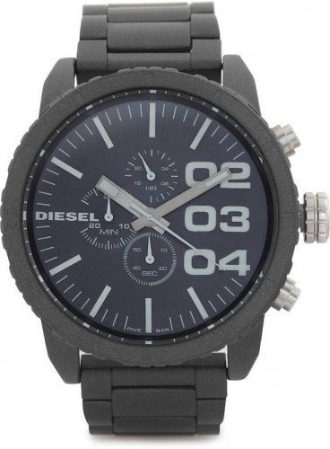 Diesel Chronograph Black Dial Men's Watch