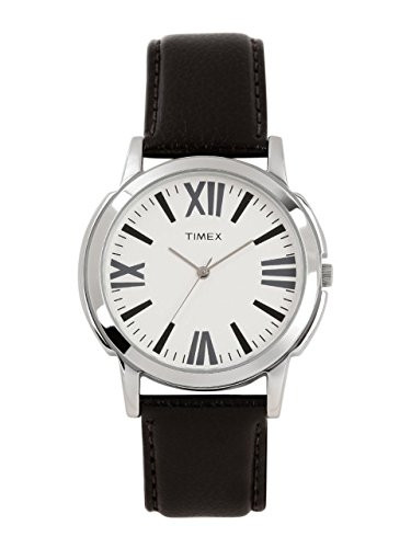 Timex Analogue White Dial Men Watch Ti0002B10100