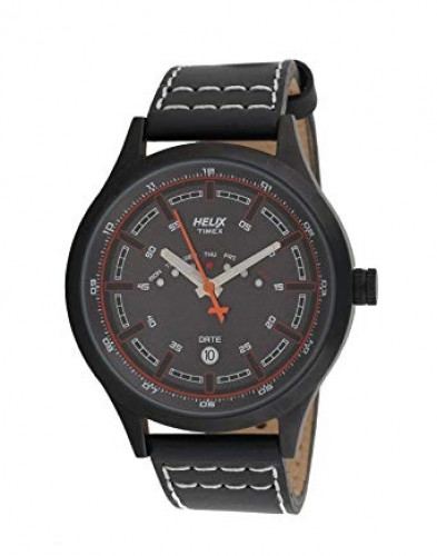 HELIX Analogue Brown Dial Men's Watch