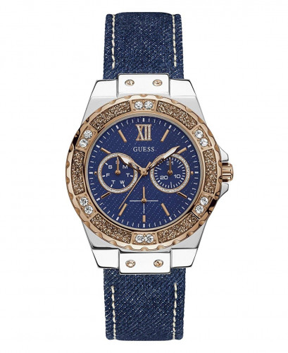 Guess Limelight Analog Blue Dial Women's Watch