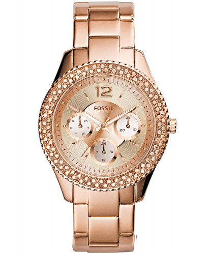 Fossil Rose Dial Women's Watch