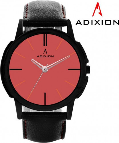 ADIXION 9502NL08 New Black Strap watch with Genuine Leather Watch