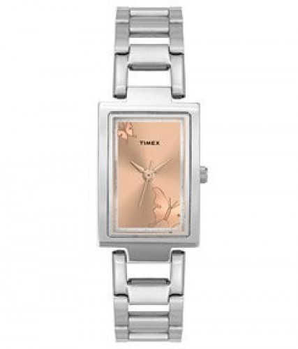 Timex Analog Brown Dial Women's Watch