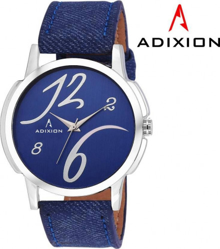ADIXION 1015SLB4 New Blue Strep watch with Genuine Leather Watch