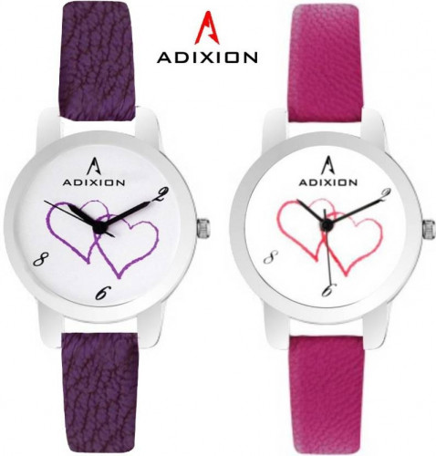 ADIXION 9421SL2607 New Combo Leather Strep Watches Watch