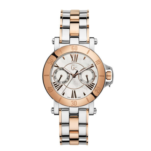 Gc X74002L1S Analog Mother of Pearl Dial Women's Watch