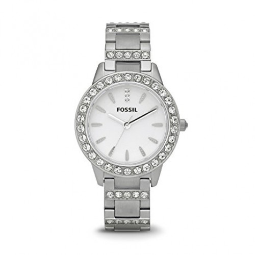 Fossil Jesse Analog White Dial Women's Watch