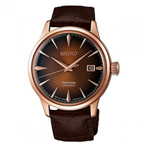 Seiko Analog Brown Dial Men's Watch
