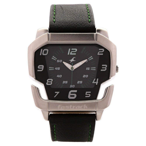 Fastrack Speed Racer Analog Black Dial Men's Watch