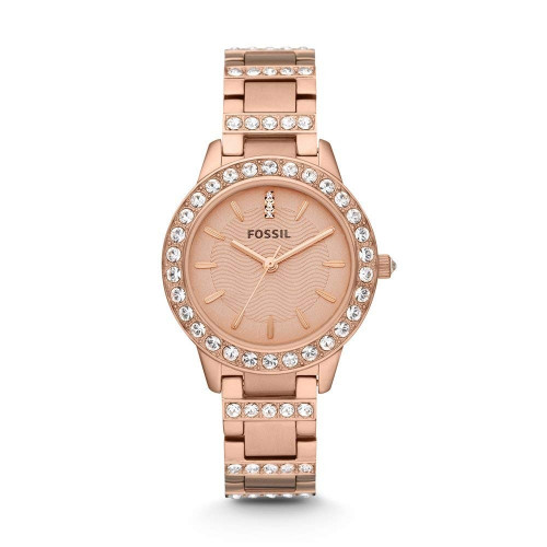 Fossil ES3020  Jesse Analog Rose Gold Dial Watch