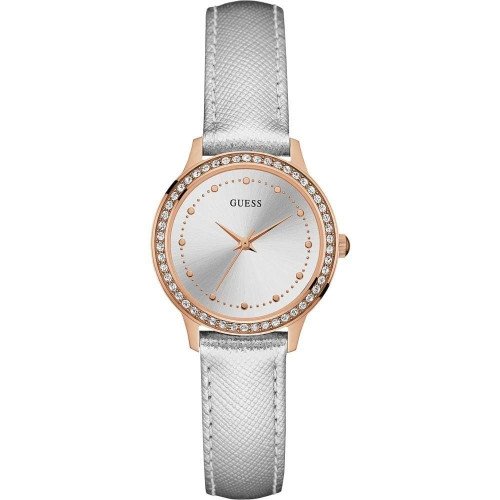Guess Chelsea Analog White Dial Women's Watch