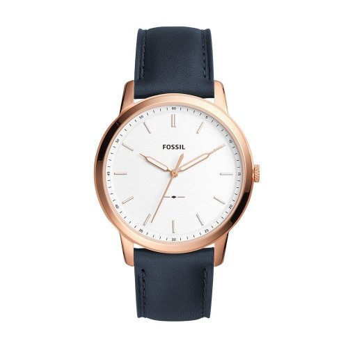 Fossil Analog White Dial Men's Watch
