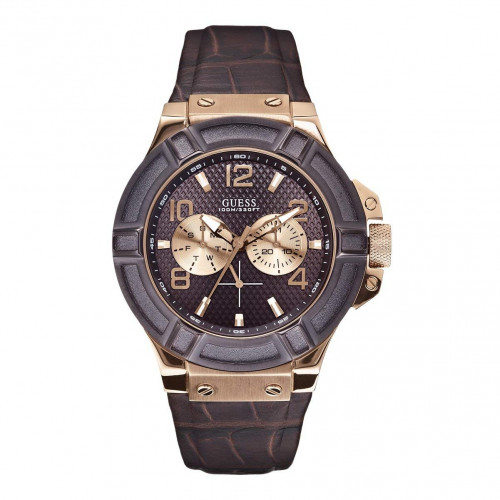 Guess Analog Brown Dial Men's Watch