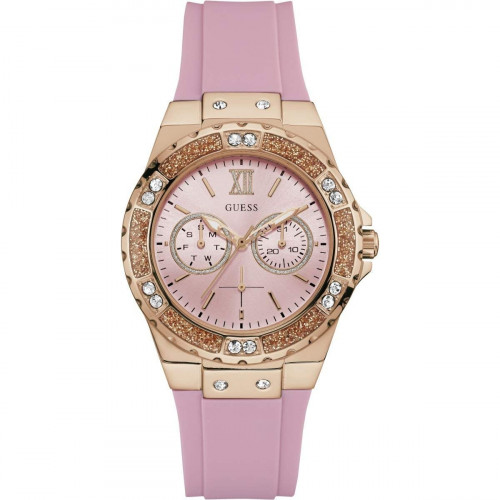 Guess Limelight Analog Pink Dial Women's Watch