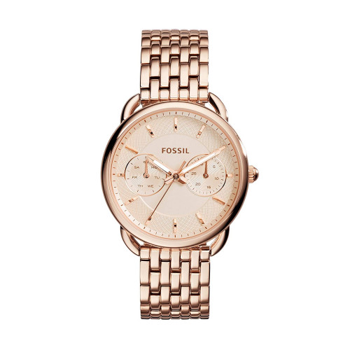 Fossil Tailor Analog Copper Dial Women's Watch