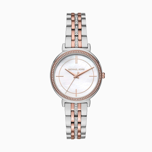 Michael Kors Analog Mother of Pearl Dial Women's Watch