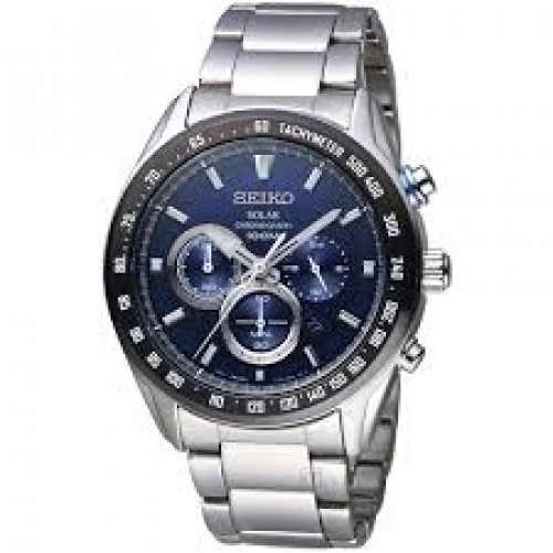 Seiko Analog Blue Dial Men's Watch