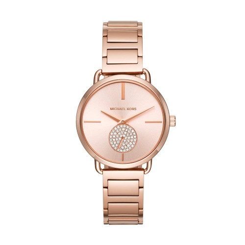 Michael Kors Analog Rose Gold Dial Women's Watch