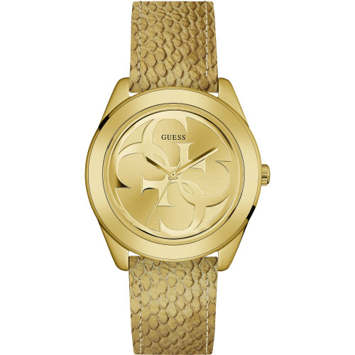 Guess W0895L8  G Twist Analog Champagne Dial Women's Watch