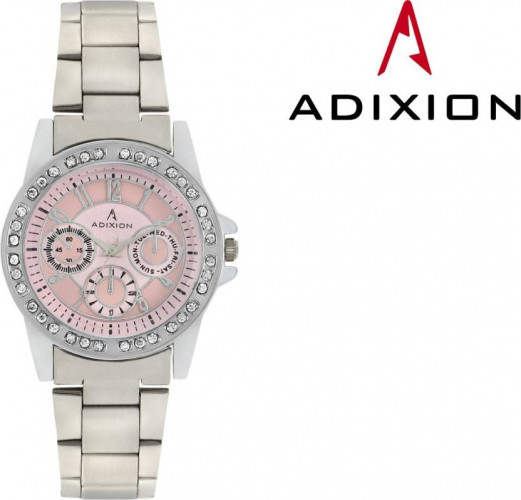ADIXION 9401SMB6 New Chronograph Pattern Stainless Steel Watch