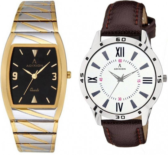 ADIXION 93159516BM01SLW002 New Gold/Silver Combo Series Watch