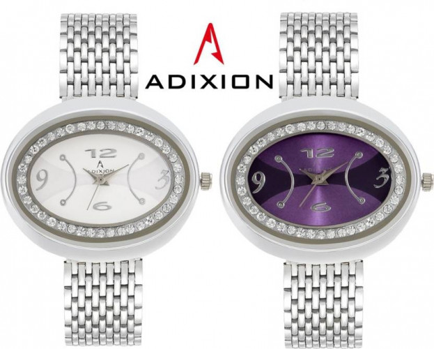ADIXION 9420SM0207 New Stainless Steel Bracelet Watch Watch