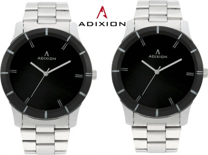 Adixin 605SM0101 New Stainless Steel Watch