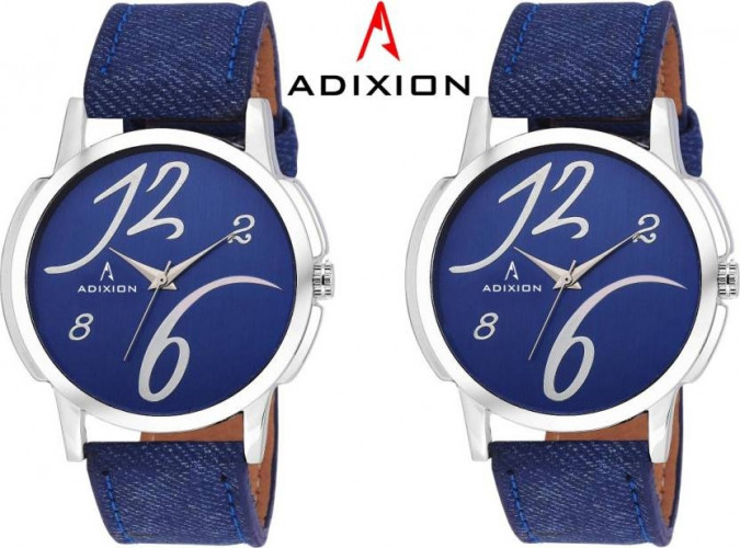 ADIXION 1015SLB4B4 New Combo Leather Strep Watches Watch