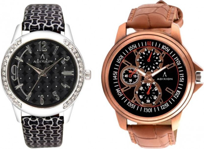 ADIXION 9406SL01COM9520SL04 New Combo Stainless Steel Watches Watch