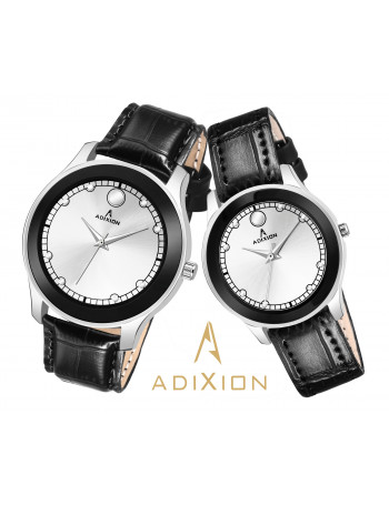 ADIXION AD95459601NL03M Movado Design Leather Strep Watch