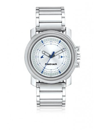 Fastrack Upgrades Analog Silver Dial Men's Watch