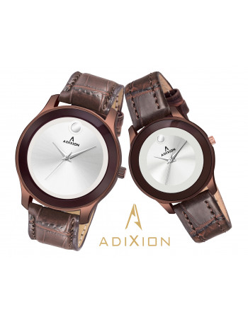 ADIXION AD95459601WL3M Movado Design Leather Strep Watch