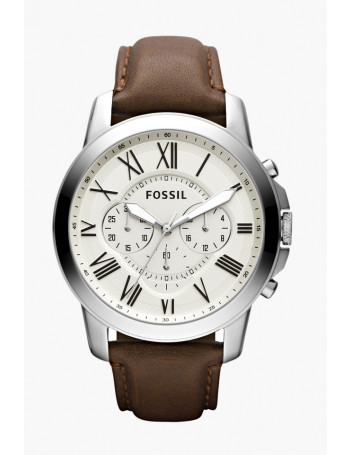 Fossil FS4735 Chronograph Beige Dial Men's Watch