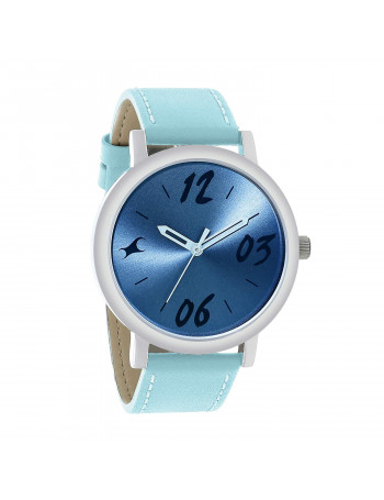 Fastrack Tropical Waters Analog Blue Dial Women's Watch