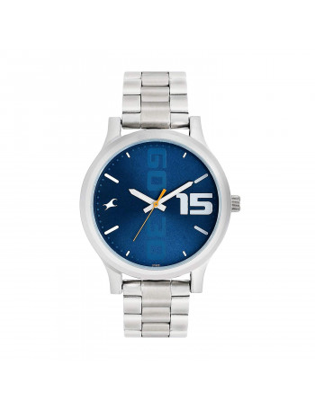 Fastrack Bold Analog Blue Dial Men's Watch