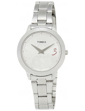 Timex Fashion Analog Silver Dial Women's Watch