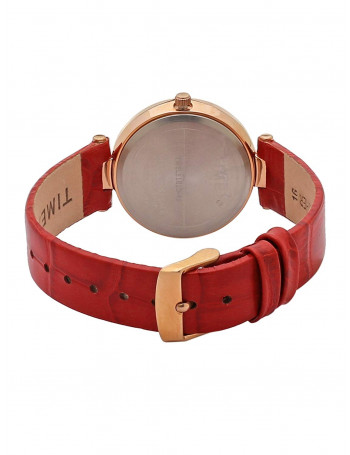 Timex Analog Red Dial Women's Watch