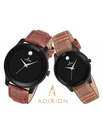 ADIXION AD95459601NL01M Movado Design Leather Strep Watch