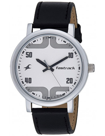 Fastrack Bold Analog White Dial Men's Watch