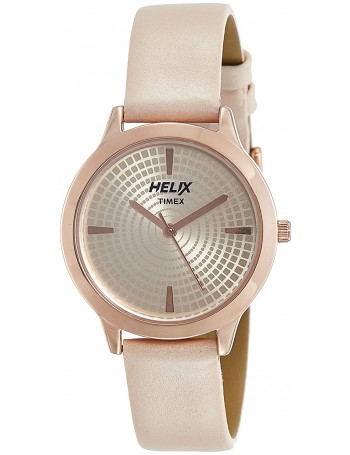 HELIX Youth Pink Dial Colorwomenwatches